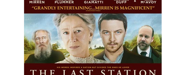As seen on Netlix: Maren (Scott's Wife) Reviews The Last Station