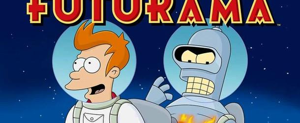 Andrew DEFINITELY recommends Futurama!