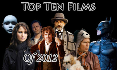 Top Ten Movies of 2012