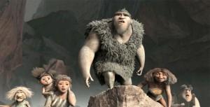 croods, caveman movie, caveman cartoon, nicholas cage, emma stone