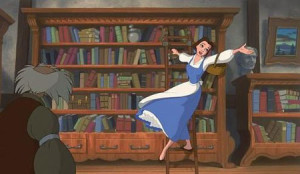 belle, beauty and the beast, bibliomania, disney