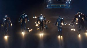 iron man suits, every iron man suit, iron man 3, iron man battle, marvel