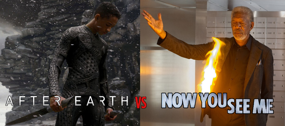 After Earth vs Now You See Me