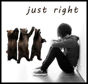 just right, goldilocks, three bears, fairy tale movies