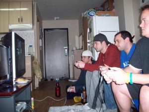 sausage fest, pickle party, halo party, party for guys