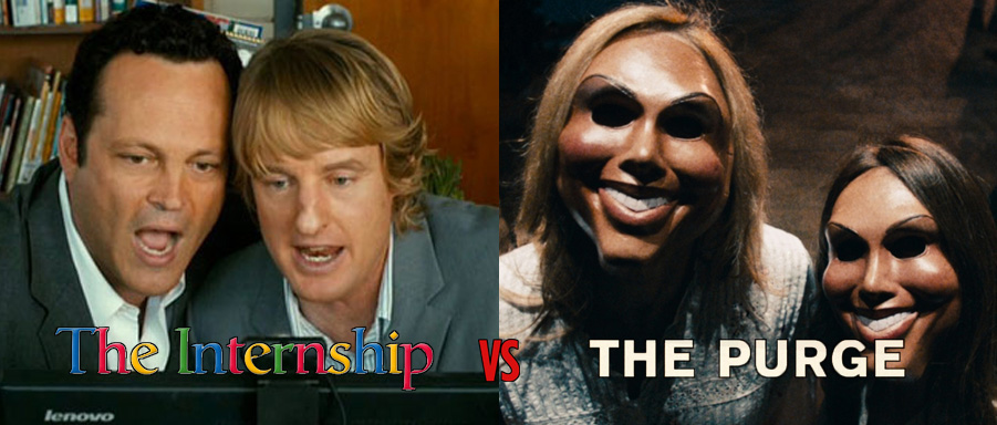 The Internship vs The Purge