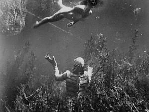 gillman, creature, black lagoon. classic monsters