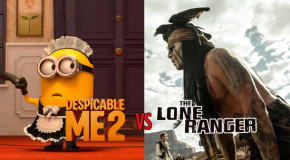 Despicable Me 2 vs The Lone Ranger