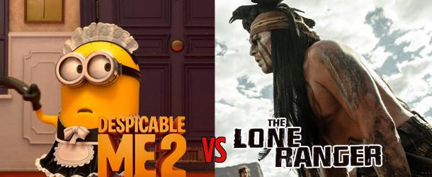 Despicable Me 2 vs The Lone Ranger