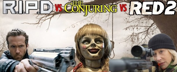 R.I.P.D vs The Conjuring vs Red 2