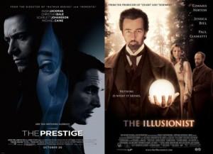 prestige illusionist, similar movies, same movies, ed norton, christian bale