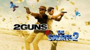 2 Guns vs Smurfs 2