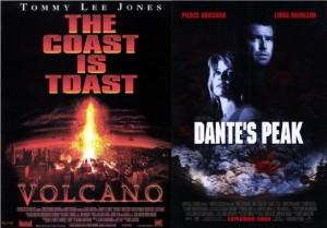 volcano dante's peak, volcano movies, volcanoes, vulcanology, copycat movies