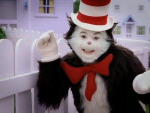 cat in the hat movie, dr seuss movies, creepy kids movies