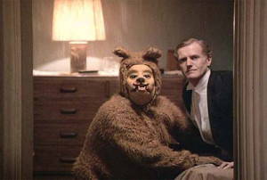 dog bear, scariest mask, worst scene ever,