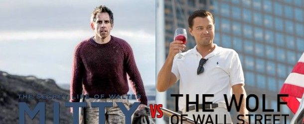 The Secret Life of Walter Mitty vs The Wolf of Wall Street