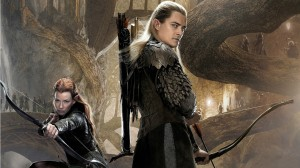 desolation of smaug, legolas, tauriel, lord of the rings