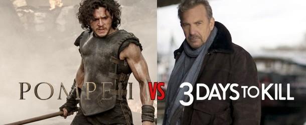 Pompeii vs 3 Days to Kill