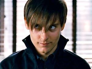 emo peter parker, tobey maguire, spiderman 3 worst movie