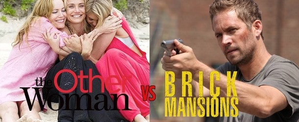 The Other Woman vs Brick Mansions