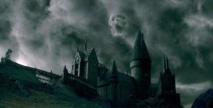 hogwarts, harry potter, scary junior high, fictional school