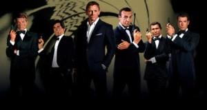 james bond, every james bond actor, james bond combined