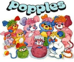 popples, toy movies, 80s toys