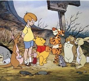 winnie, winnie the pooh, christopher robin, hundred acre wood