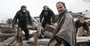 dawn of the planet of the apes, caesar, jason clarke, andy serkis