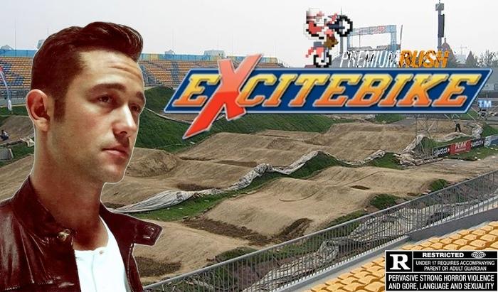 excitebike, excitebike movie, premium rush 2, joseph gordon levitt, video game movies
