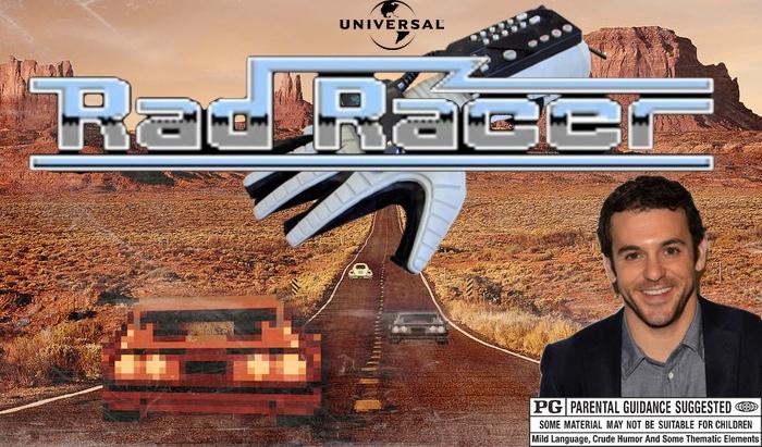 rad racer, racing game movies, video game movies, fred savage movie, wizard 2