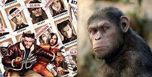 xmen dofp, dawn of the planet of the apes, apes series, xmen