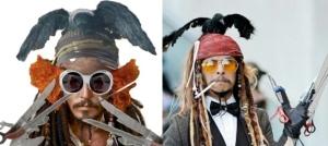 depp, every depp costume, jonny depp costumes