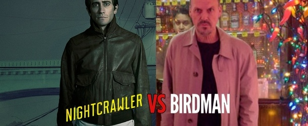 Nightcrawler vs Birdman