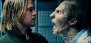 wwz, zombie bite, brad pitt zombie, worst zombie movie