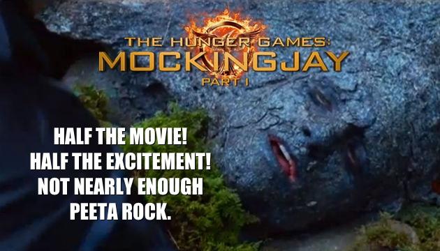 mockingjay poster, mockingjay review, mockingjay part 1, peeta poster