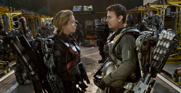 edge of tomorrow, live die repeat, tom cruise, emily blunt, best movies 2014