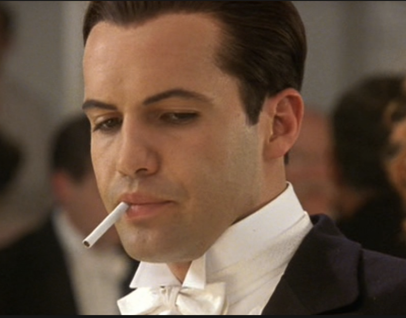 billy zane, titanic, movie villains, never seen titanic
