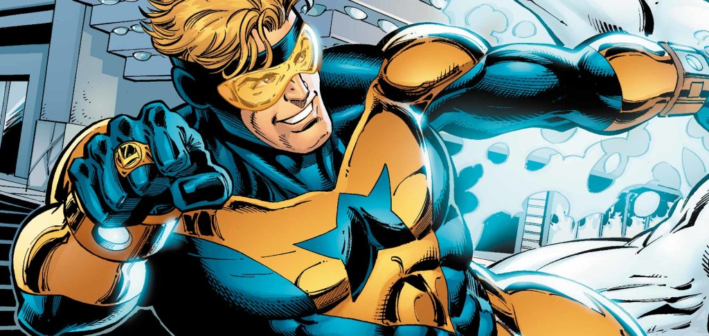 booster gold, booster gold tv show, booster gold series, comic book series