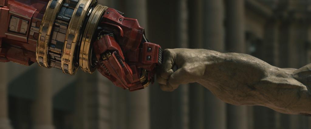 hulkbuster fist bump, hulkbuster fight, hulk vs iron man, worst marvel movie