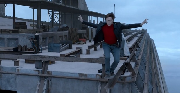 the walk movie, joseph gordon levitt, philippe petit, man on wire movie