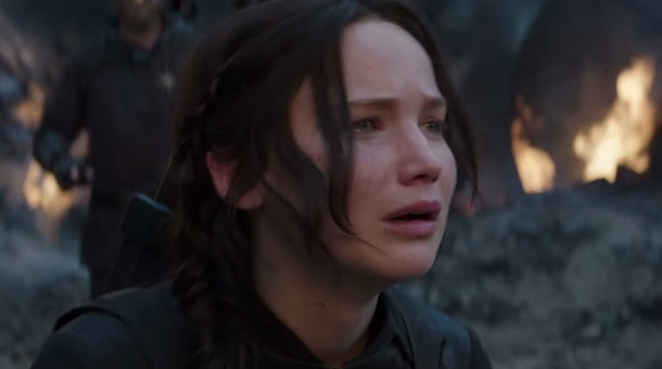 sad face, katniss sad face, mockingjay part 1, mockingjay part 2