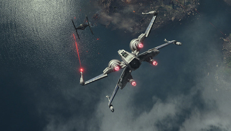 x wing, x-wing, star wars, force awakens, bad star wars review