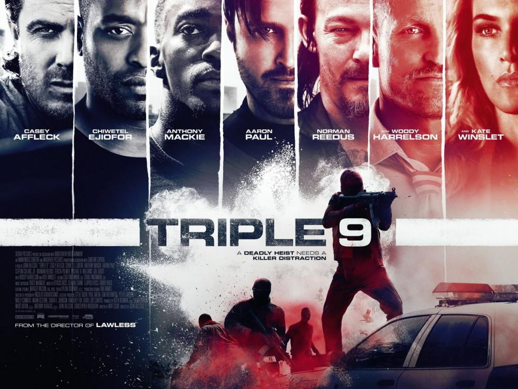 triple 9, triple nine, 999, crime movies 2016