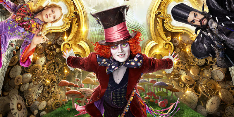 alice, alice 2, alice through the looking glass