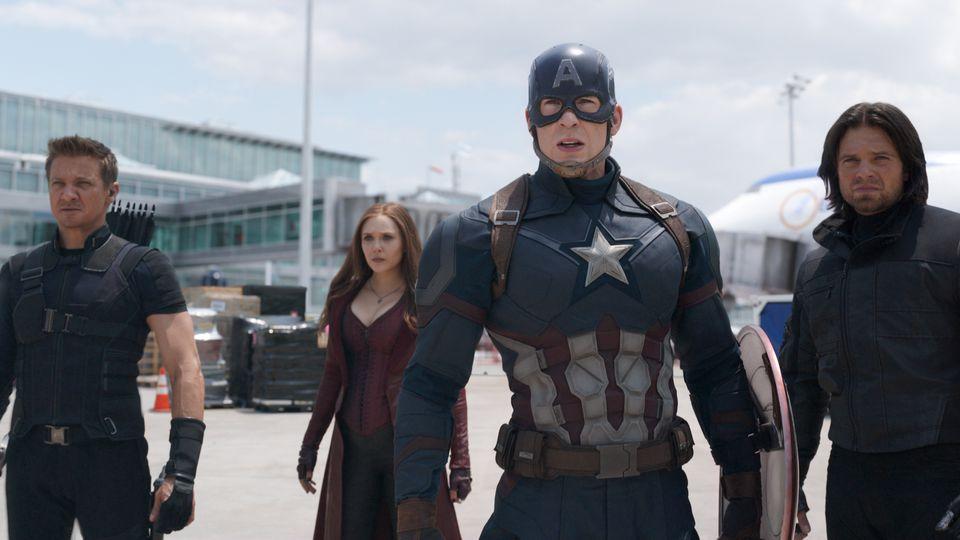 captain americas team, captain america, civil war, captain america 3