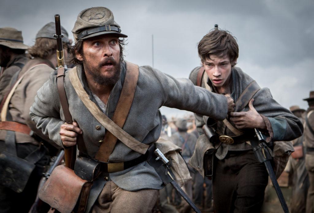 matthew mcconaughey, free state of jones, civil war movies