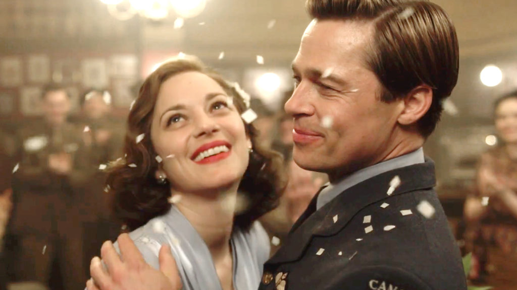 allied-movie, allied review, brad pitt, marion cotillard, spy movies