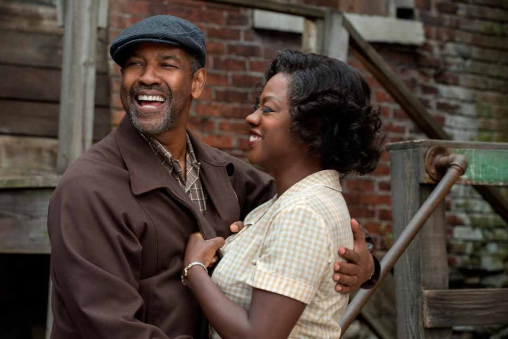fences, fences movie, denzel washington, viola davis, best actress 2016