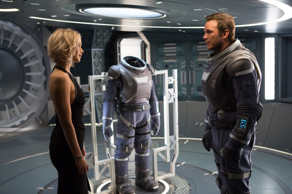 passengers, passengers movie, chris pratt, jennifer lawrence